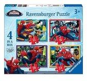 Bir Kutu Da Dört Farklı Puzzle Ravensburger Prıncess