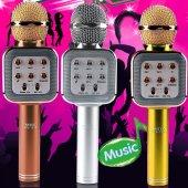 Karaoke Mikrofon Wster Ws 1818 Orjinal Bluetooth Usb Fm Micro Sd