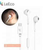 Letv Leeco Usb C (Type C) Cdla Mikrofonlu Kulaklık Led Işıklı