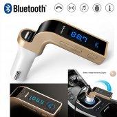 Bluetooth Fm Transmitter Aux Kart Girişli Araç Kiti