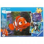 Ravensburger 3 X 49 Parça Çocuk Puzzle Nemo Nun Akvaryumu