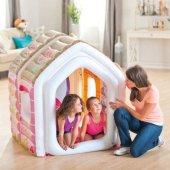ıntex 48635 Kiddie Prenses Şişme Oyun Evi Şişme Koltuk Ve Puf