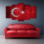 5 Parçalı Türkiye Tablosu