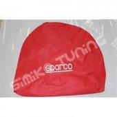 Sparco Logolu Kırmızı Servis Kılıfı