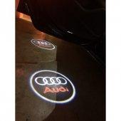 Audi A2 Kapı Altı Işıklı Logo