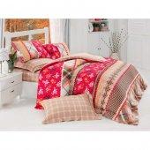 Cotton Box Serafima Kırmızı Çift Kişilik Complete Set (4 Mevsim)