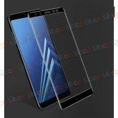 Samsung Galaxy A8 Plus 2018 3d Komple Full Kapatan Ekran Koruyucu