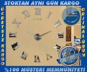 3d Büyük Duvar Saati Ofis Ev Lobi Salon Dev Saat 70 130 Cm 016 B