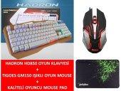 Hd850 Oyun Klavyesi+tıgoes Gm150 Işıklı Mouse+kaliteli Mouse Pad