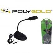 Polygold Pg 120 Masa Üstü Şık Tasarım Mikrofon