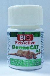 Pet Active Dermacat Kediler Için Sarmisakli Maya Tableti 75 Adet