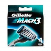 Gillette Mach 3 Bicak 4 Lu