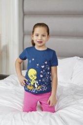 Rolypoly Tweety 9044 Pamuklu Pijama Takımı Lacivert