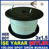 Her Boyda Garantili 3x1.5 Ttr Elektrik Kablosu