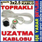 3x2.5 Tse Garantili Topraklı Uzatma Kablosu 25m 2