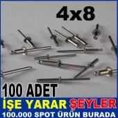 4x8 Çelik Pop Perçin 100 Adet Fiyatı 2