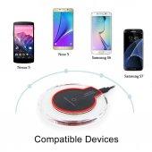 Iphone Samsung Uyumlu Fantasy Wireless Pad Kablosuz Şarj Aleti