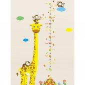 Boy Cetveli Zürafa Maymun Meyveler
