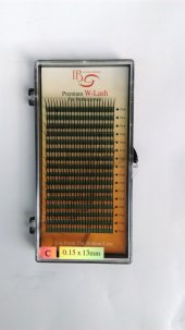 ıb İpek Kirpik C (0.15x13mm) W Lash