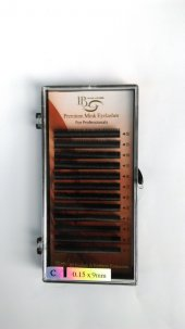 ıb İpek Kirpik C (0.15 9mm) Premium Mink Eyelash