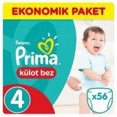 Prima Pants Külot Bebek Bezi Jumbo Maxi 4 Beden 56 Lı 8 14 Kg