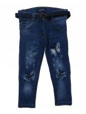 Tomurcuk Bebe Kız Çocuk Kelebek Detaylı Pantolon