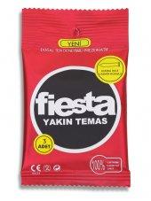 Fiesta Prezervatif Yakın Temas 3 Adet Condom Cep Paket
