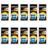 Duracell 675 Numaralı İşitme Cihazı Pili 6 X 10 (60 Adet)