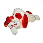 60cm Sevimli Yatan Aşık Köpek Peluş Oyuncak Kaliteli, Peluşcu Bab