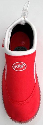 Ahs Kırmızı Beyaz Deniz Ayakkabısı