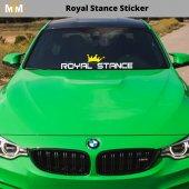 Royal Stance Oto Sticker