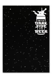 Istisna Dark Side Of The Beer Defter,ajanda,bloknot