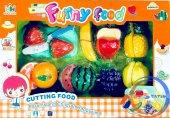 Sebze Ve Meyve Kesme Tahtalı Oyun Seti Yumurta