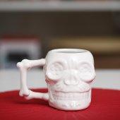 Porselen İskelet Kupa Bardak