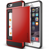 Verus İphone 6 Plus 6s Plus Damda Slide Kılıf Crimson Red