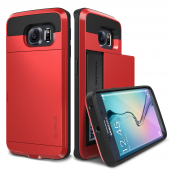 Verus Galaxy S6 Edge Damda Slide Series Kılıf Crimson Red