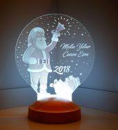 Noel Baba Led Lamba Yeni Yıl Hediyesi