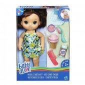 Baby Alive Bebeğimle Dondurma Zamanı Kumral Hasbro