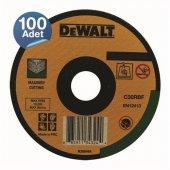Dewalt Dwa4521cfa 100 Adet 115x2,5mm Metal Taşlama Diski Bombeli