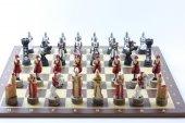Satranç Takımı, B. Osmanlı Ve Haçlılar, 50 Cm Sehpa