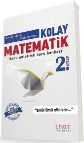 Limit Yayınları Yks 1. Oturum Tyt Kolay Matematik 2. Kitap