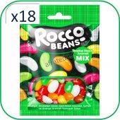 Rocco Beans Tropik Meyveli Yumuşak Şekerleme 40 Gr...