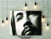 Orhan Gencebay Siyah Beyaz Kanvas Tablo & Poster
