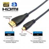 Hdmı Micro Hdmı Yüksek Kalite Kablo 1,8 Metre