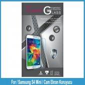 Samsung S4 Mini İçin Cam Ekran Koruyucu