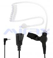 Mırax Pmr Telsiz Akustik Kulaklığı, Mikrofonlu, 2,5mm Fiş Mt201 Pm02