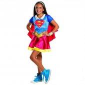 Supergirl Süper Kız Kostüm 5 7 Yaş