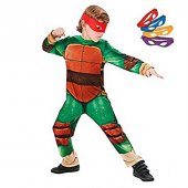 Ninja Turtles Klasik Kostüm 5 6 Yaş
