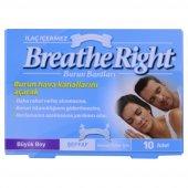 Breathe Right Burun Bantı Şeffaf Normal Boy 10 Adet