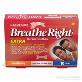 Breathe Right Extra Burun Bantı Standart Boy Normal Cilt 10 Adet